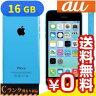 白ロム au iPhone5c 16GB (ME543J/A) Blue[中古Cランク]【当社1ヶ月間保証】 スマホ 中古 本体 送料無料【中古】 【 パソコン&白ロムのイオシス 】