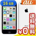 白ロム au iPhone5c White 16GB (NE541J/A) [中古Bランク]【当社1ヶ月間保証】 スマホ 中古 本体 送料無料【中古】 【 パソコン&白ロムのイオシス 】
