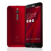 SIMフリー 【再生品】ASUS ZenFone2 (ZE551ML-RD32S4) 32GB Red 【RAM4GB 国内版 SIMフリー】[中古Bランク]【当社1ヶ月間保証】 スマホ 中古 本体 送料無料【中古】 【 パソコン&白ロムのイオシス 】