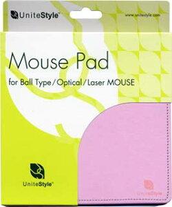 UniteStyle マウスパッド・チェリーピンク・ボール レーザー