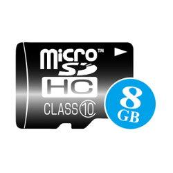 高速microSDHCカード8GB(動画撮影にも最適・CLASS10・特売品=メーカー選べません)