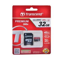 microSDHCTS32GUSDU1(32GB・高速転送CLASS10・高速書込45MB/s・SDHCアダプタ付)