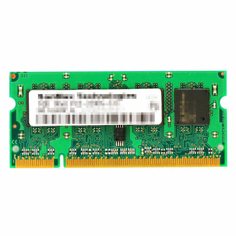 増設メモリ, PC用メモリ PCSODIMM NB 1GB PC5300200pinDDR2-667