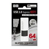 3年保証・高速モデル64GB【USBメモリST3U64NST1】USB3.0&USB2.0両対応・SuperTalent