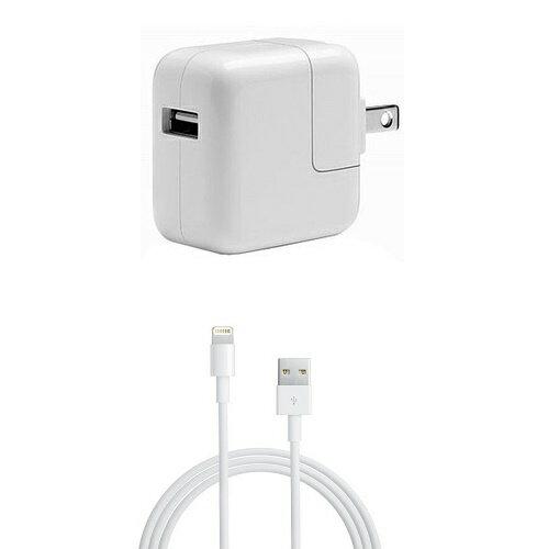 バッテリー・充電器, AC式充電器 AppleAC10WUSB Lightning (1m)2DC5.1V 2.1A iPadiPhoneMC359JA A1357 iPad