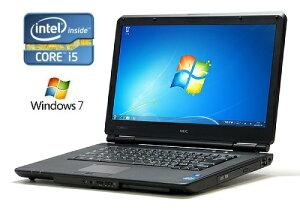 [中古]良品 NEC VersaPro PC-VK24TXZCD Corei5-2430M 2.40GHz/4GB/250GB DVDマルチ内蔵 15.6型...
