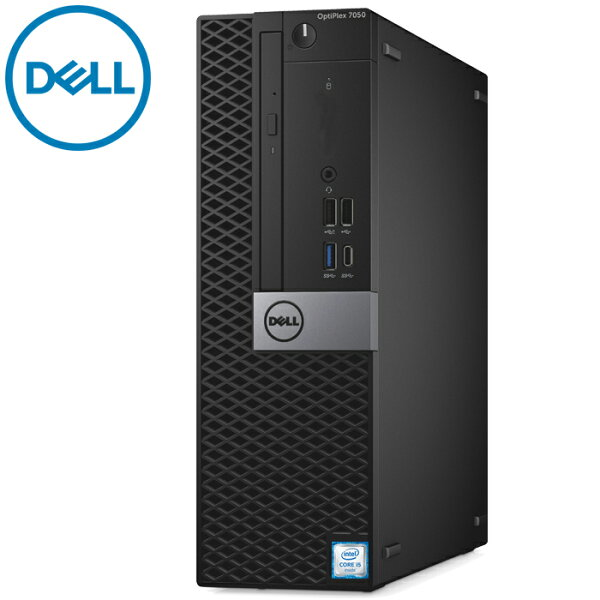 在宅勤務対応DELLOptiPlex7050SFF第六世代Corei5-65008GBメモリ新品SSD512GBUSB3.0光学