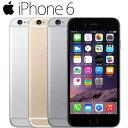 【エントリーでさらに10倍!】iPhone6 16GB 白ロム 4.7インチ 3色選べる キャリア選べる Retina HDディスプレイ Touch ID 中古スマホ アップル APPLE 中古アイフォン 本体のみ