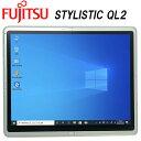 【在宅対応】【Zoom対応】日本製タブレット 富士通 STYLISTIC QL2 Core-i5 12型 RAM:4GB SSD:64GB タッチ Wi-Fi Bluetooth 中古タブレット 中古パソコン タブレットPC Tablet Windows10 Pro FMV・・・