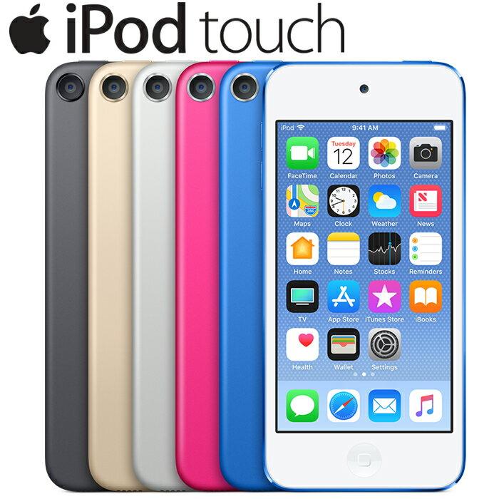 ポータブルオーディオプレーヤー, デジタルオーディオプレーヤー iPod touch(6) 4 16GB Wi-Fi A1574 Retina FaceTime HD Bluetooth Mac Apple