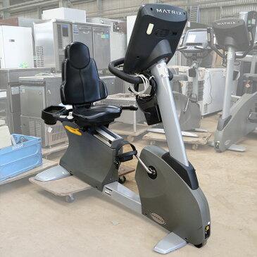 マトリックス リカンベント サイクル R-7x エアロ バイク ジム エクササイズ フィットネス トレーニング マシン 【中古】