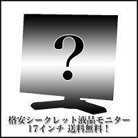 【シークレットセール】17型液晶モニター【中古】