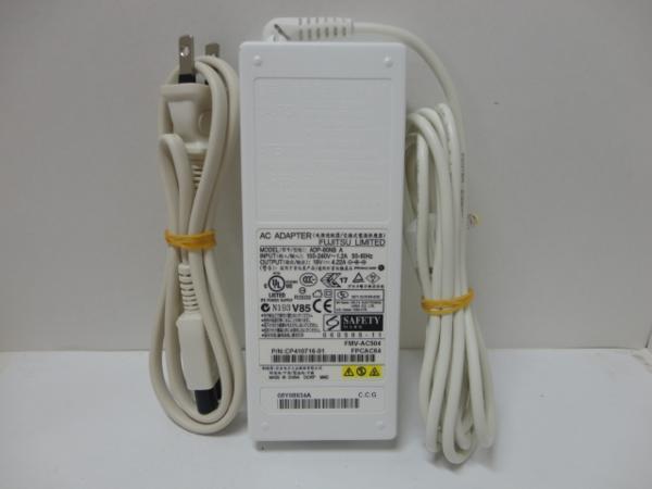 富士通 純正ACアダプター MODEL:ADP-80NB A FMV-AC504 FPCAC64 19V 4.22A FMV-AC325A FMV-AC325 FMV-AC322 FMV-AC325C同等品