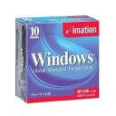 イメーション MF2HDWIN10PS 黒 10枚プラケース入り 3.5型 フロッピーディスク 【051122162220】