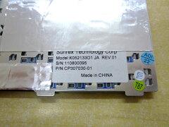 富士通:ノートパソコン用キーボード新品(グレー)K052133O1