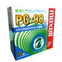 日立マクセル MFHD8.C10E PC-98用 3.5型フロッピーディスク 2HD 10枚ホワイトケース入り