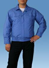 綿薄手長袖作業服用空調服M-500U