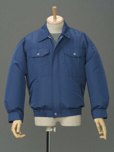 ポリ長袖作業服 P-500N空調服で快適に作業!