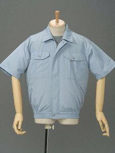 ポリ半袖作業服 P-500H 空調服で快適に作業!