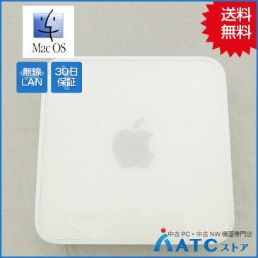 【中古デスクトップパソコン】Apple/Mac Mini Server/MC408J/A/Core2Duo 2.53G/HDD 500GBx2/メモリ 4GB/Mac OS X 10.6【良】