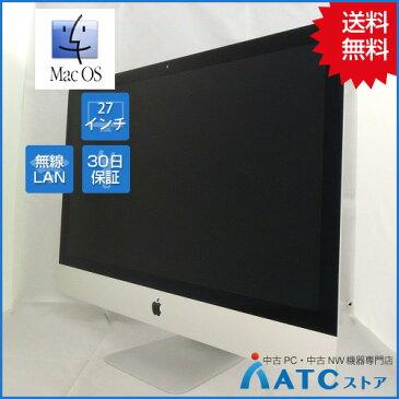 【中古デスクトップパソコン】Apple/iMac/MK482J/A/Core i5 3.3GHz/2TB Fusion Drive/メモリ 32GB/ 27インチ/Mac OS X 10.11【良】