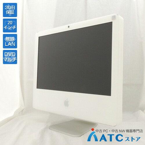 パソコン, デスクトップPC AppleiMacMA589JACore2Duo 2.33GHzHDD 250GB 2GB20Mac OS X 10.4
