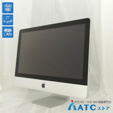 【中古デスクトップパソコン】Apple/iMac/MC309J/A/Core i5 2.5GHz/HDD 500GB/メモリ 8GB/21.5インチ/Mac OS X 10.7【良】