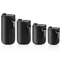 【送料無料】一眼レフカメラレンズケースレンズポーチ防水耐衝撃レンズ収納袋直径7.5*10cm8.5*14cm8.5*17cm8.5*22cm4サイズセットアウトドア登山