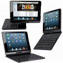 【あす楽】iPad air/air2通用 Bluetooth キーボードケース360度回転☆5色選択可能☆Macbookに変身cbookに変身