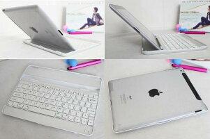 【送料無料】ipad4/iPad3/iPad2専用/ipadmini123専用Bluetoothキーボード薄型2カラー選択
