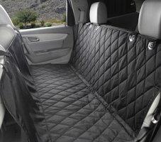 【送料無料】大型ペット対応ドライブシート/マット後部座席ブラック汚れ防止カーシート車シートカバー売れ筋TEC-MDSH0001D