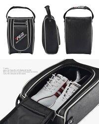 【送料無料】型崩れ防止大容量シューズバッグシューズケース収納防水靴ゴルフスポーツスニーカースパイクTEC-XB003D