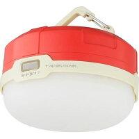 グリーンハウスLEDライト防水キャンプライトIPX4対応フック&マグネット付GH-LED1WPA-RDテント電池式