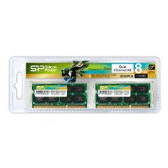 【在庫有り】シリコンパワー SP016GBSTU160N22 (ノートPC用 DDR3 PC3-12800 8GB×2枚)
