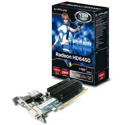 【在庫少】SAPPHIRE HD6450 1G DDR3 PCI-E HDMI/DVI-D/VGA (PCIExp RADEON HD6450 1GB)