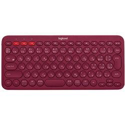 ロジクール K380 Multi-Device Bluetooth Keyboard K380RD [レッド] (Bluetooth接続