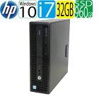 第6世代HP600G2SFCorei767003.4GHz大容量メモリ32GB高速新品SSD960GBDVDマルチWindows10Pro64bitWPSOffice付きUSB3.0対応中古中古パソコンデスクトップ1553a4R