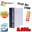 中古パソコン BTO ・富士通 FMV-D550 モニタレス・Core2DuoE7500・メモリ2GB・ハードディスク80GB・DVD-ROM・32BitWindows7Professional/Multiup /bto-d550-e7500/中古