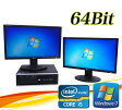 中古パソコン HP 8300 Elite SFF 22型wデュアルモニター Core i5 3470-3.2GHzメモリ8GBGeForce HDMI内蔵DVDマルチ64Bit Win7 Pro /R-dm-070/中古