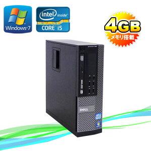 中古パソコンDELLOptiplex7010SF/モニタレスCorei5-3470(3.2GHz)(メモリー4GB)(DVDマルチ)(64BitWindows7Pro)(R-d-284)【中古パソコン】P15Aug15【中古】05P01Mar15【smtb-k】