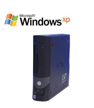 中古パソコン デスクトップ DELL Optiplex GX270SF Pentium4 2.4GHz HDD40GB 512MB WindowsXP Pro デスクトップパソコン/R-d-441/中古