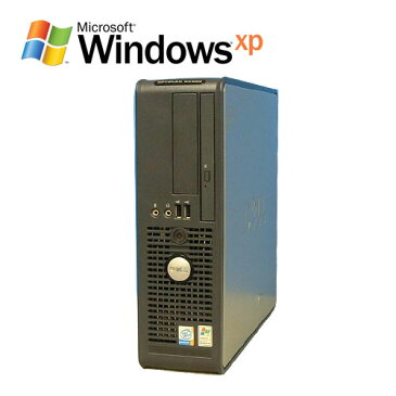 中古パソコン デスクトップ DELL Optiplex GX520SF Pentium4 HT 2.6GHz WindowsXP Pro /R-d-259/中古