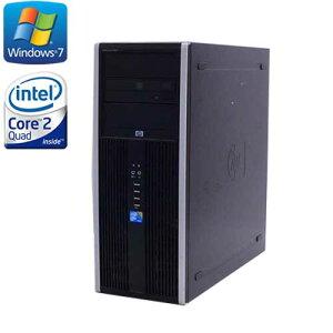 中古パソコン3Dゲーミング仕様HP8000MT/Core2QuadQ9650(3.0)/メモリ8GB/HDD(新品)2TB/DVDマルチ/GeforceGTX1050/Windows7Pro64Bit/ゲーミングpc/R-dg-132/中古