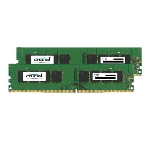 CFD W4U2400CM-8G [DDR4-2400][8GBx2枚組] デスクトップ用メモリ (CFD Selection Crucial by Micron) スタンダードモデル