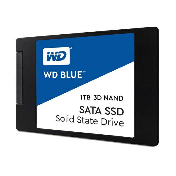 WesternDigitalWDS100T2B0A 1TB/SSD WDBlueSATAIII接続/64層3DNAND