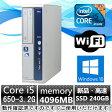 中古パソコン Windows10 デスクトップパソコン【無線有】NEC MB-B Core i5 650 3.2G/4G/新品SSD240GB/DVD-ROM