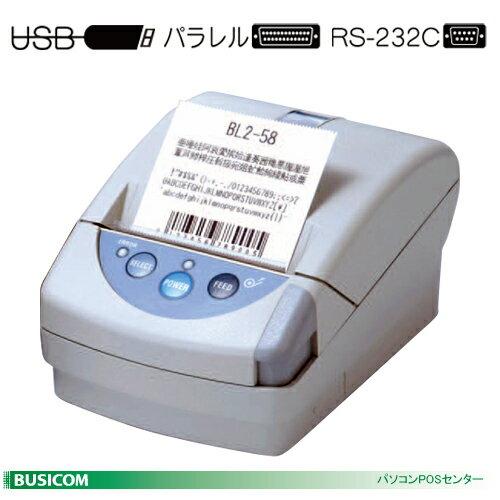 【三栄電機】デスクトップ58mm幅サーマルプリンター BL2-58シリーズ《白系》(USBorシリアルorパラレル選択)【送料無料・代引手数料無料】♪:パソコンPOSセンター