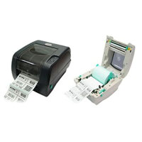 TSPバーコードラベルプリンタTTP-345-E(熱転写/300dpi/4インチ/Ethernet兼備)