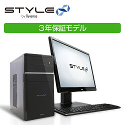 [3年保証] iiyama ミニタワーPC Stl-M022-C-HFCSM モニタ別売 [Windows 10 Home/Celeron G3930/8GB/240GB SSD/DVD]