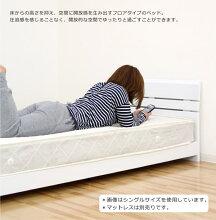 ベッドセミダブルベッドセミダブルベッドフレームすのこベッドすのこフロアベッドローベッドホワイトダークブラウンナチュラル選べる3色木製北欧シンプルモダン楽天通販送料無料